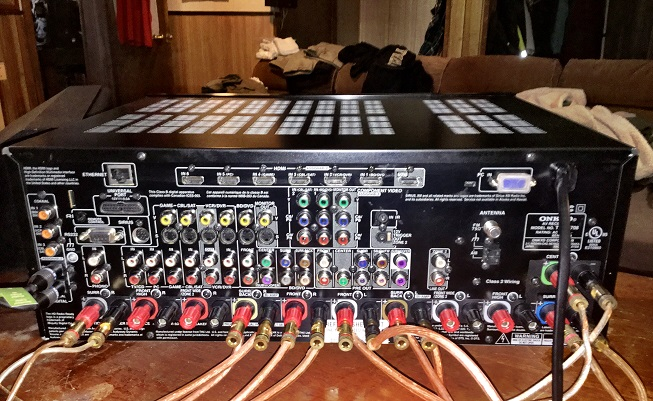 Onkyo TX-NR708 THX 7 2 Home Theater Receiver - LOADED For Sale